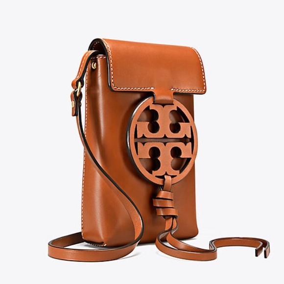 ff9cb1d6bee ⭐️Tory Burch Miller Leather Phone Crossbody Bag⭐ .  M 5b31a536aa571912cf8121a8
